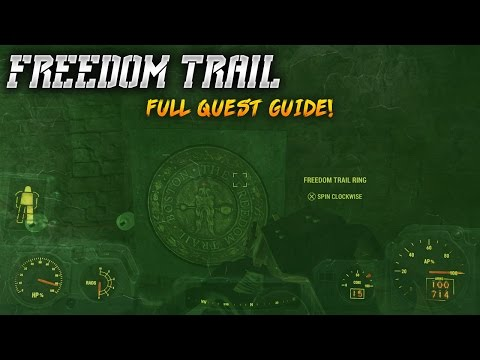 Fallout 4 - Freedom Trail Full Quest Guide