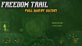 fallout 4 freedom trail full quest guide