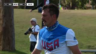 2018 WU24UC - USA v Canada Mens Quarter FInal Day 5 - Reupload
