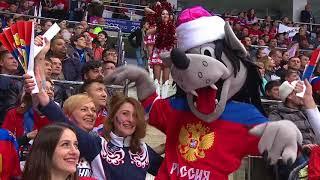 Сборная России — Сборная Швеции. Лучшие моменты. 14.12. 2017