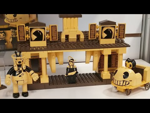 Bendy And the INK MACHINE 2019 CONSTRUCTION playsets!!