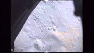 Apollo-15 landing near Hadley Rille (video starts 0:13)