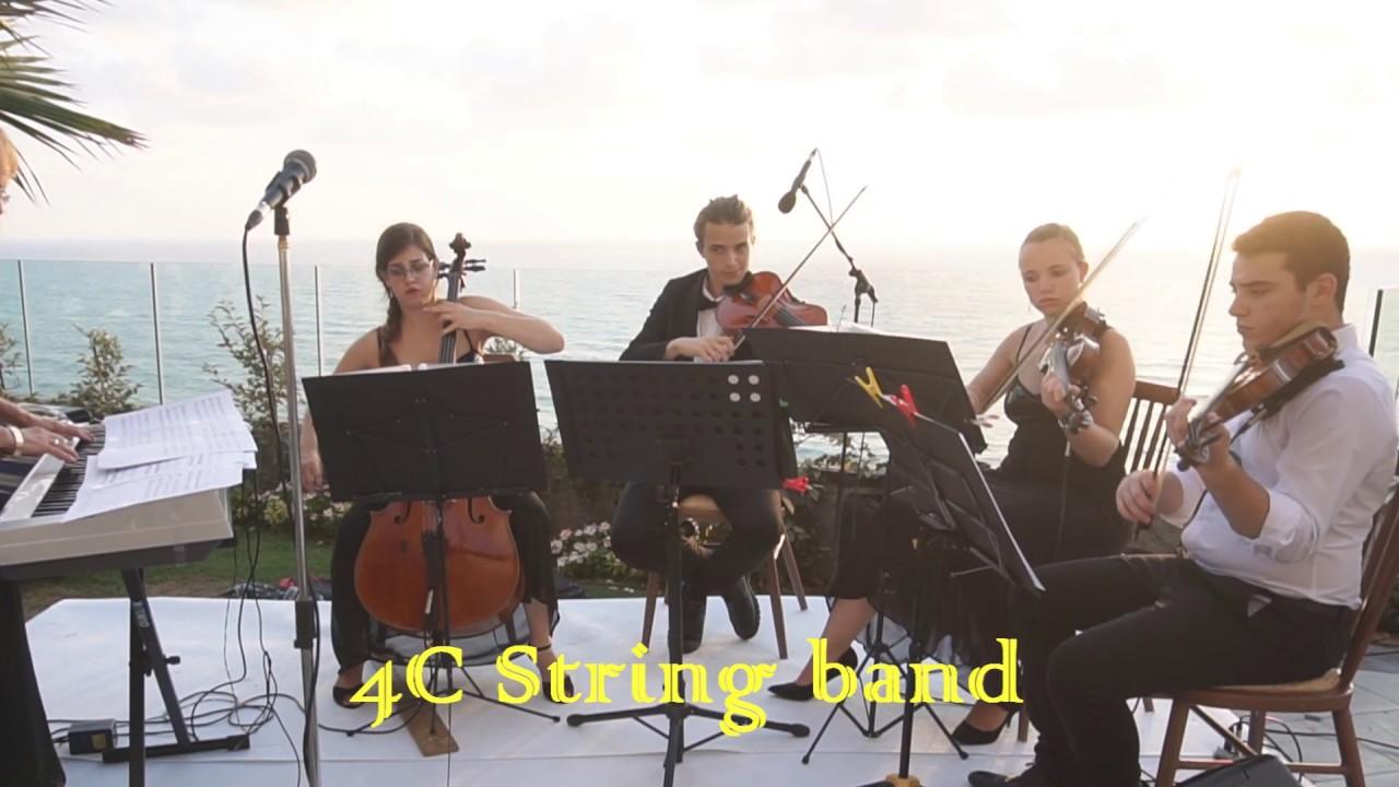 כרמית הכנרית - הרכב יוקרתי לקבלת פנים 4C String band