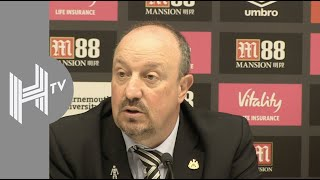 Rafael Benitez: We lost two points against Bournemouth!