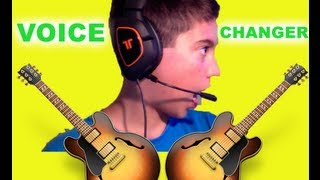Voice Changer Tutorial For Xbox Live, PSN or Skype!