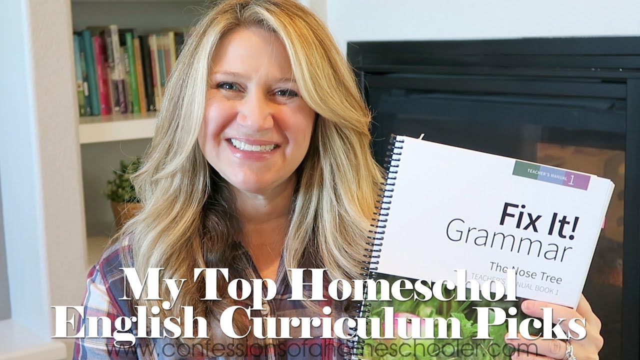 Top English Grammar Homeschool Curriculum Picks Youtube
