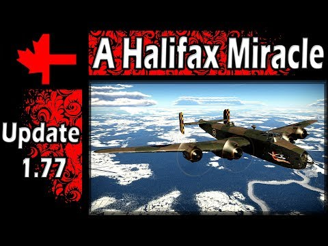 War Thunder - A Halifax Miracle