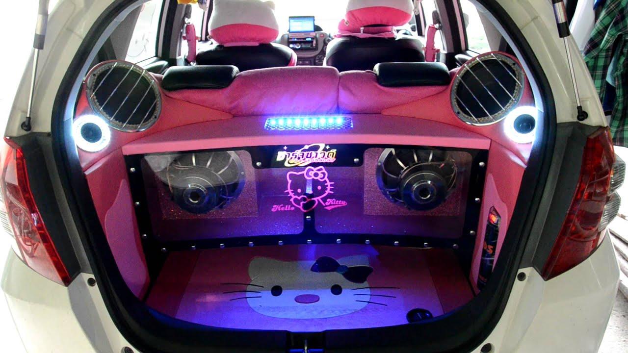 ���ูกอม Audio Sound In Honda Jazz Hd Youtube