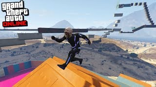 THE EXTREME PARKOUR OF ROBLOX!! GTA V ONLINE