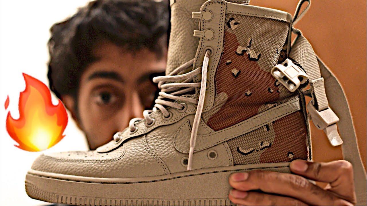 Preview Sneaker Nike Urban Air Force Sf 1 Utility Camo Desert m0vOyw8nN
