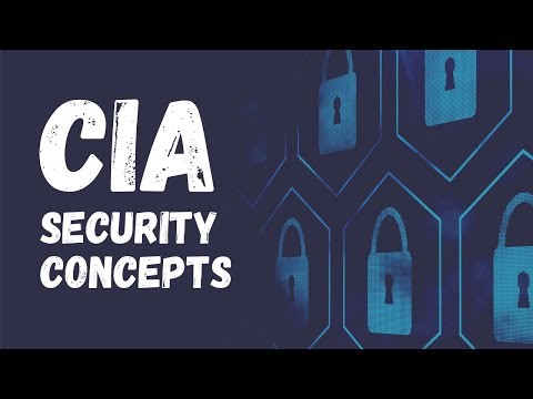 """The """"C.I.A."""" security concepts."""