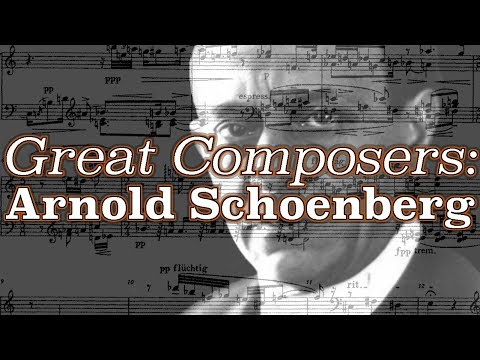 Great Composers: Arnold Schoenberg
