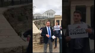 Corey Stewart Vows to Go After Flaccid Weak Toilet Paper Republicans