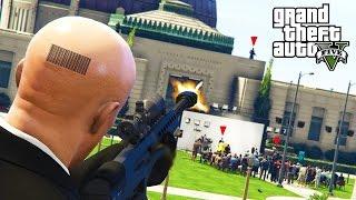GTA 5: AUFTRAGSMÖRDER!! HITMAN MOD! AGENT 47!
