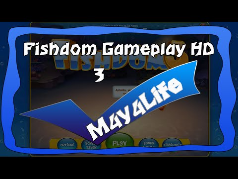 Gameplay Fishdom 3 HD