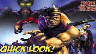 Dreamcast: Zombie Revenge! Quick Look - YoVideogames