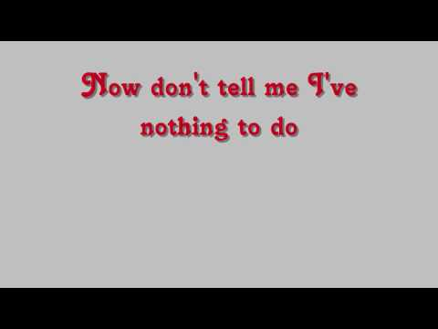 The Statler Brothers -Flowers on the wall (lyrics)