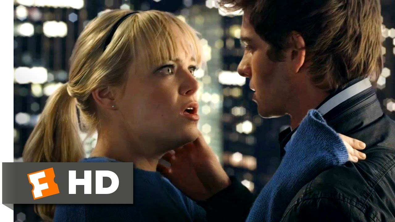 The Amazing Spider-Man – Web-Sling Kiss Scene (4/10) | Movieclips
