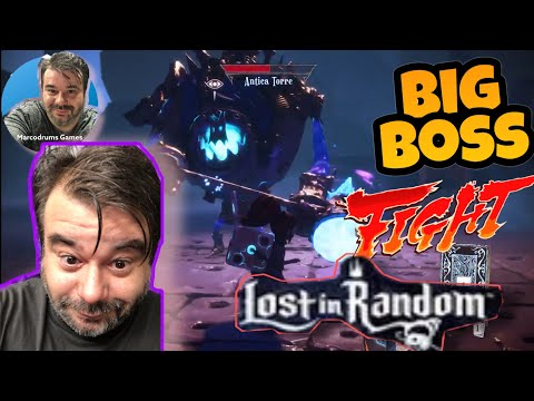Boss Fight - Lost In Random - by Marcodrums Games |