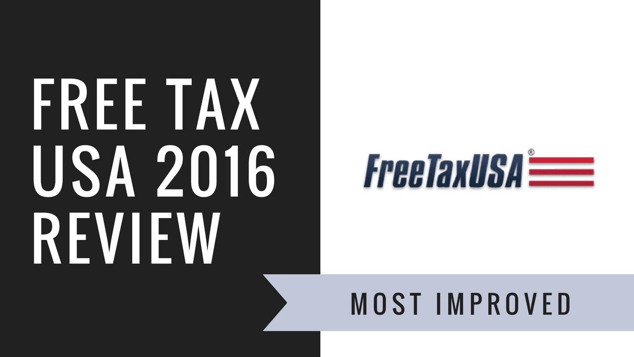 Free Tax USA Review   2016