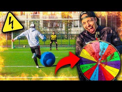EXTREME PECH-RAD FUßBALL CHALLENGE! *HART*