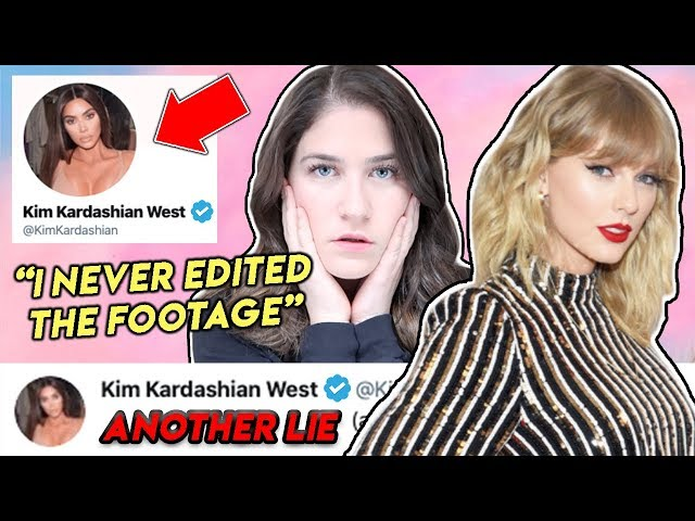 Kim Kardashian calls Taylor Swift a Liar and plays the victim… AGAIN   Lauren Lipman