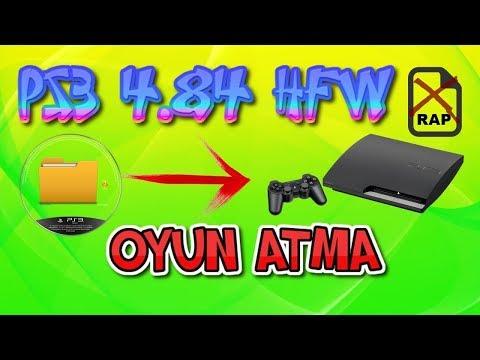 PS3 4.84-85 HFW (TÜM MODELLER) - OYUN YÜKLEME (PKG) 2.YÖNTEM (RAP'SIZ) TÜRKÇE 2019