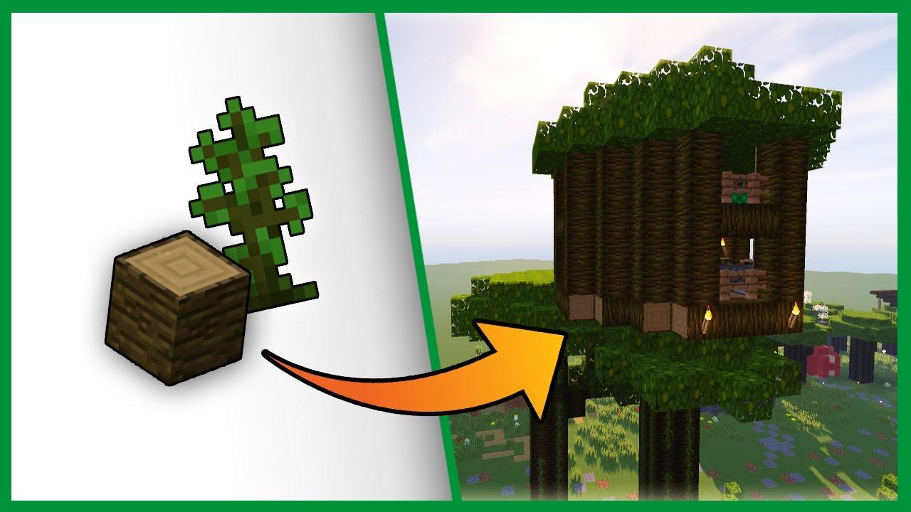 Come costruire una casa sull 39 albero minecraft best build youtube - Casa sull albero minecraft ...