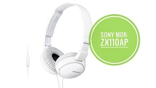 SONY Headphone MDR-ZX110AP (Re…