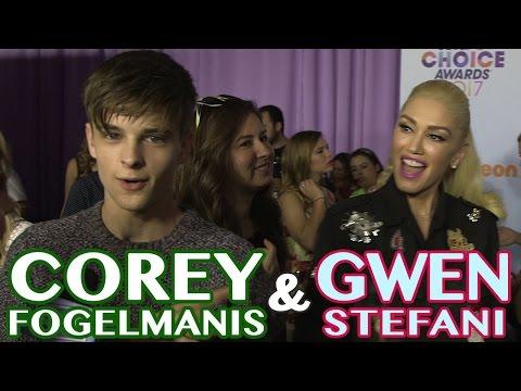 When Corey Fogelmanis Met Gwen Stei!