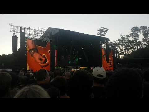 Guns n Roses 2017 Auckland Welcome to the jungle