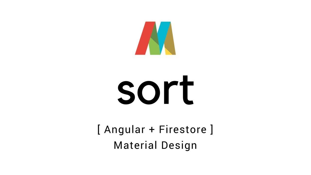 Angular 5 + Firestore – Sorting in data tables | T-Pub :)