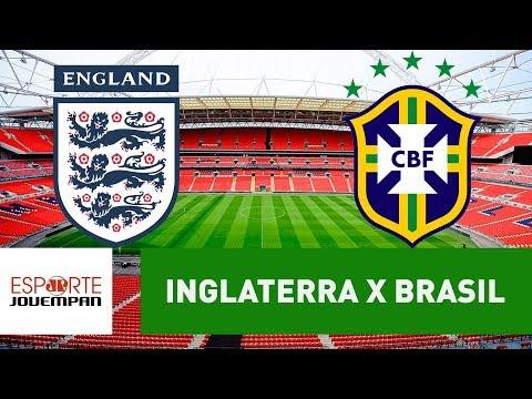 Inglaterra 0 x 0 Brasil - 14/11/17 - Amistoso