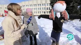 Острый репортаж с Аллой Михеевой Масленица 2013 в Ярославле