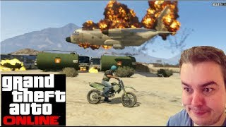 Grand Theft Auto Online (PS3): Biggest Explosion Ever!!!!!! & Funny moments!
