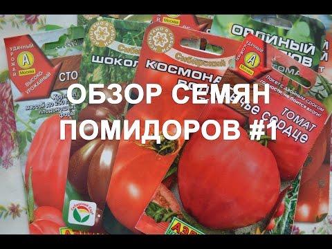 Обзор сортов семян помидоров (томатов) #1