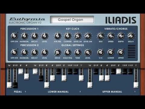 Download Free Hammond organ clone plug-in: Euthymia