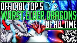 Official Top 5 Worst Elder Dragons in All of Monster Hunter History! (Discussion/Community Vote/Fun)