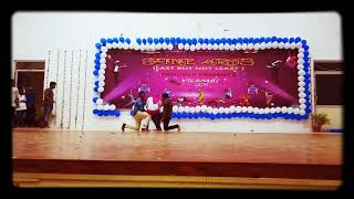 Amazing dance performance by andhra students