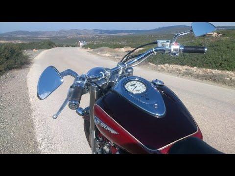 Motorcycle ride to Nicosia, via Troodos Mountains Cyprus part one.