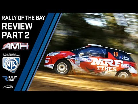 Rally of the Bay 2019 Review Part 2 - Heat 1 Action from both 4WD and 2WD cars