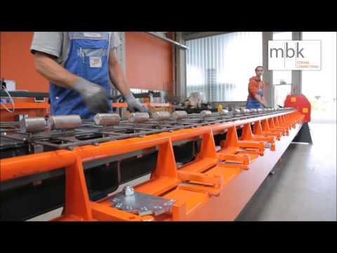Mesh Bending Machine/Mattenbiegemaschine MBM-600-H