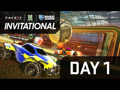 X Games 2017: Rocket League Invitational (Day 1)