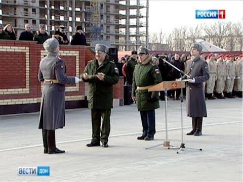 Новый полк 150-й мотострелковой дивизии получил боевое знамя