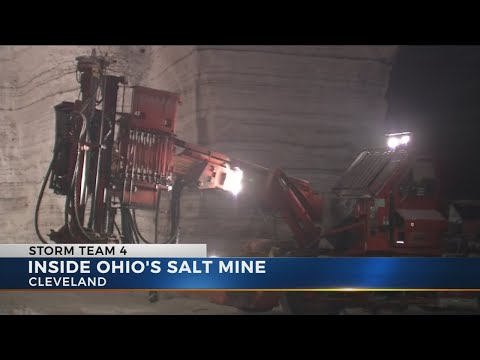 Cleveland Salt Mine Keeps Roads Across Central Ohio Clear In Winter