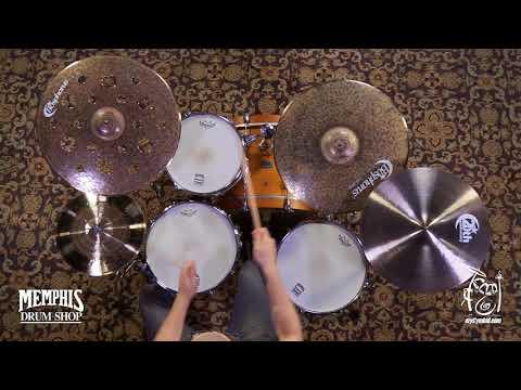 """Bosphorus 20"""" Turk Thin Ride Cymbal - 2000g (K20RT-1070617W)"""