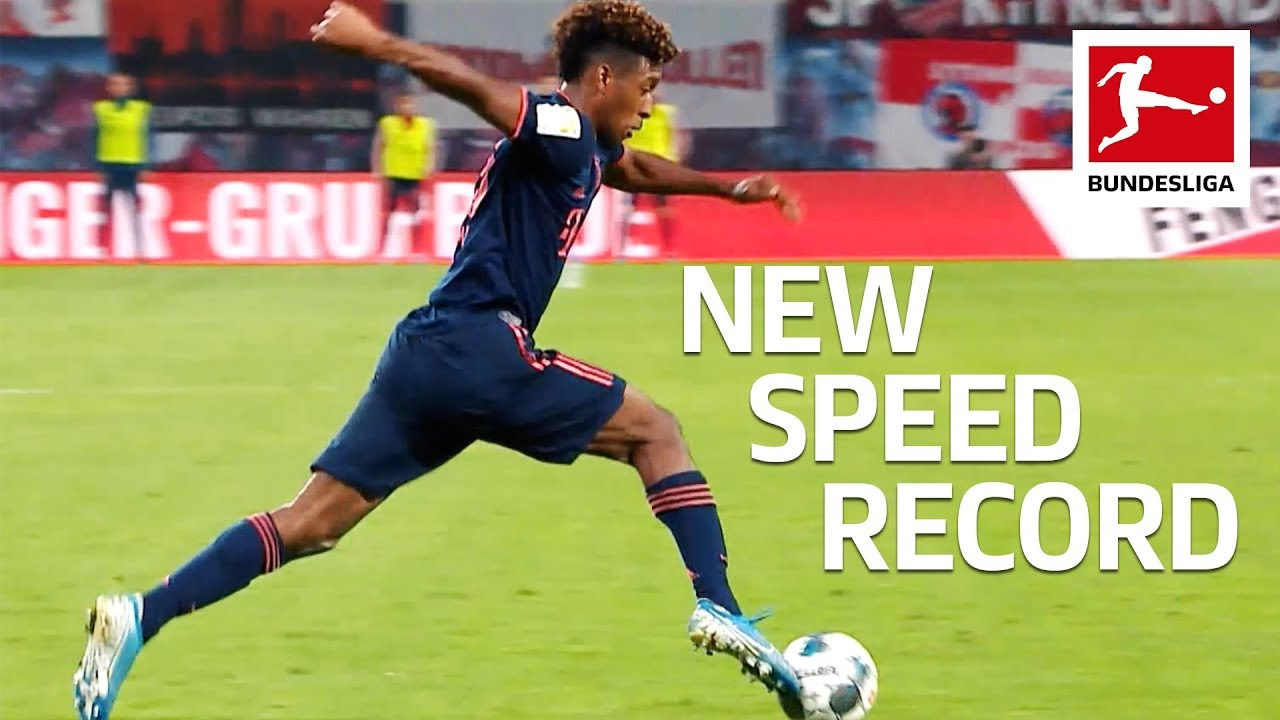 Alphonso Davies breaks Bundesliga speed record then sees red as ...