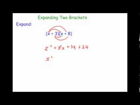 Expanding Two Brackets