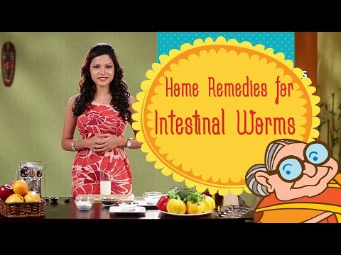 Intestinal Worms - Home Remedies For Intestinal Worms - Tips To Cure Parasites In The Intestine
