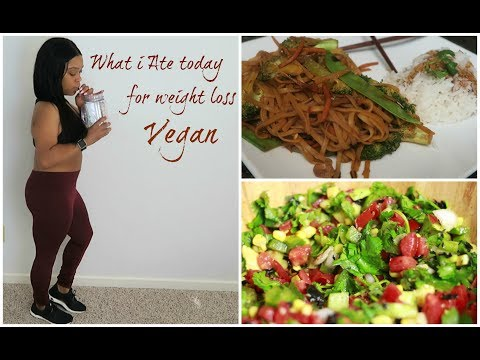 WHAT I EAT IN A DAY FOR WEIGHT LOSS| VEGAN|HEALTHY|INTERMITTENT FASTING